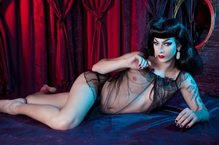 Drag Queen Violet Chachki Lingerie Campaign
