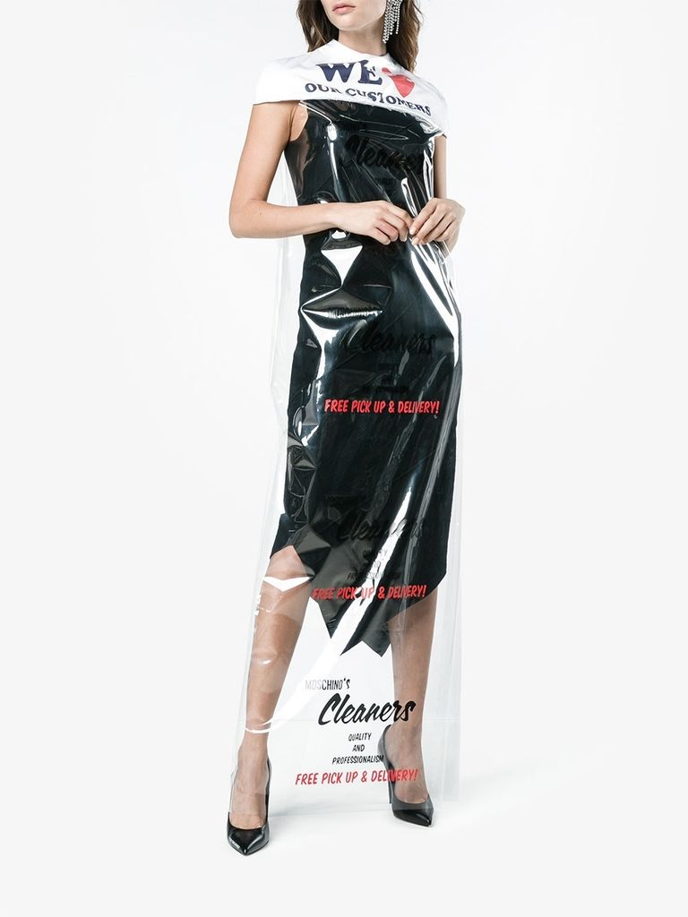 Moschino Cleaning Bag Dress