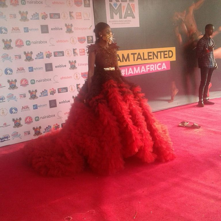 Nana Akua Addo Red Carpet AFRIMA Awards 2017