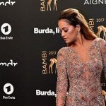 Rita Ora Naked Dress BAMBI Awards