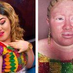 Albino Bride Makeup Transformation