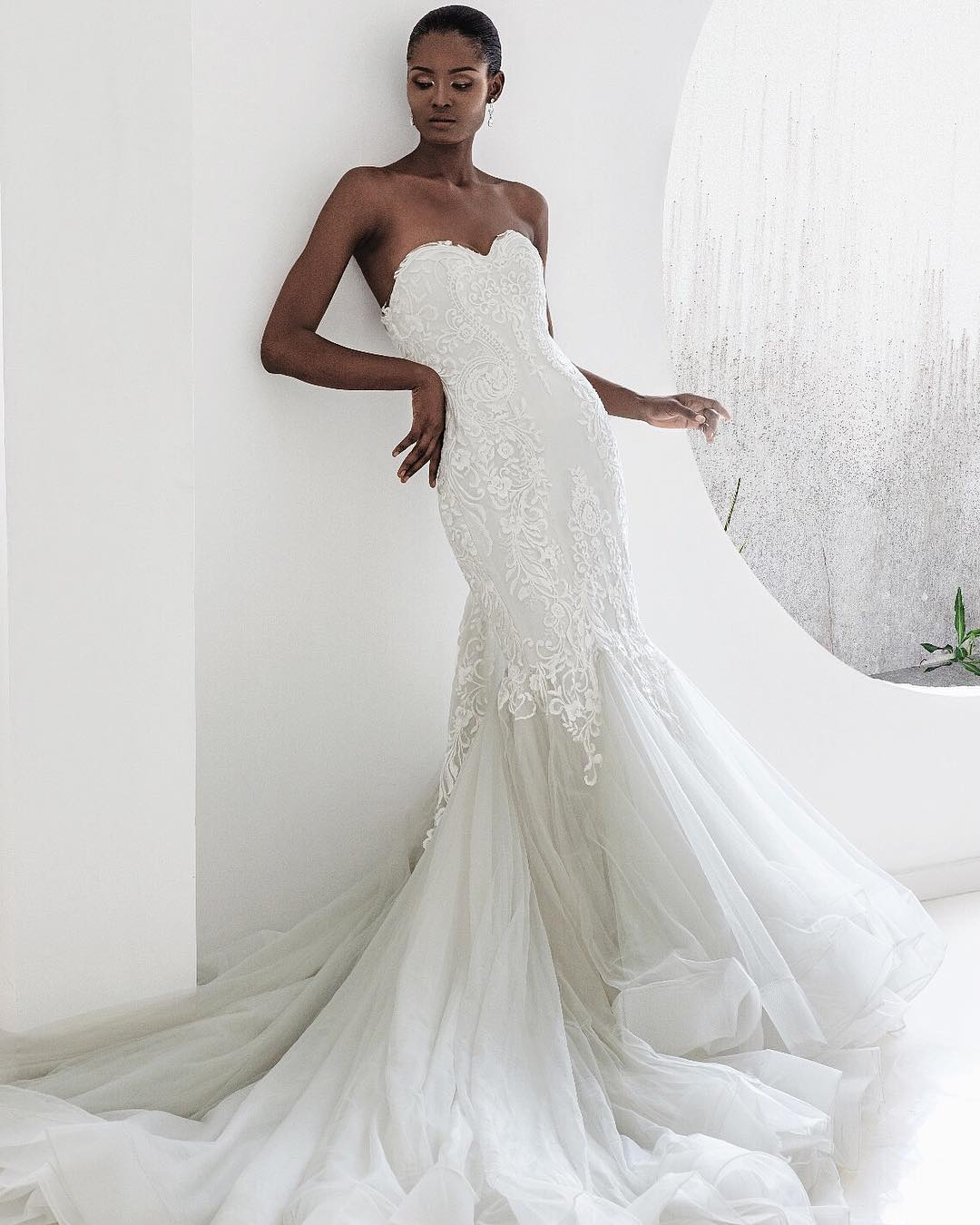 Andrea Iyamah Bridal Collection Fashion Police Nigeria