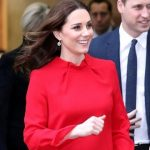 Kate Middleton Red Dress Manchester Convention Complex