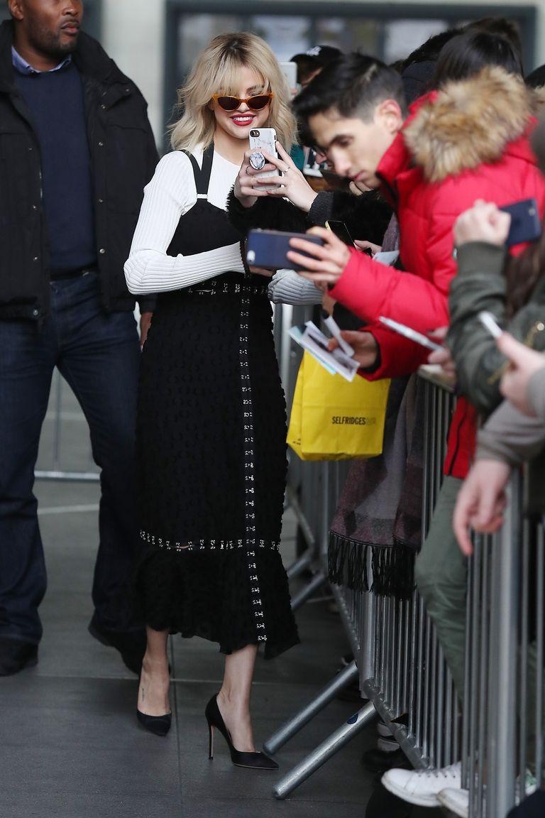 Press Tour Selena Gomez Fashion Moments