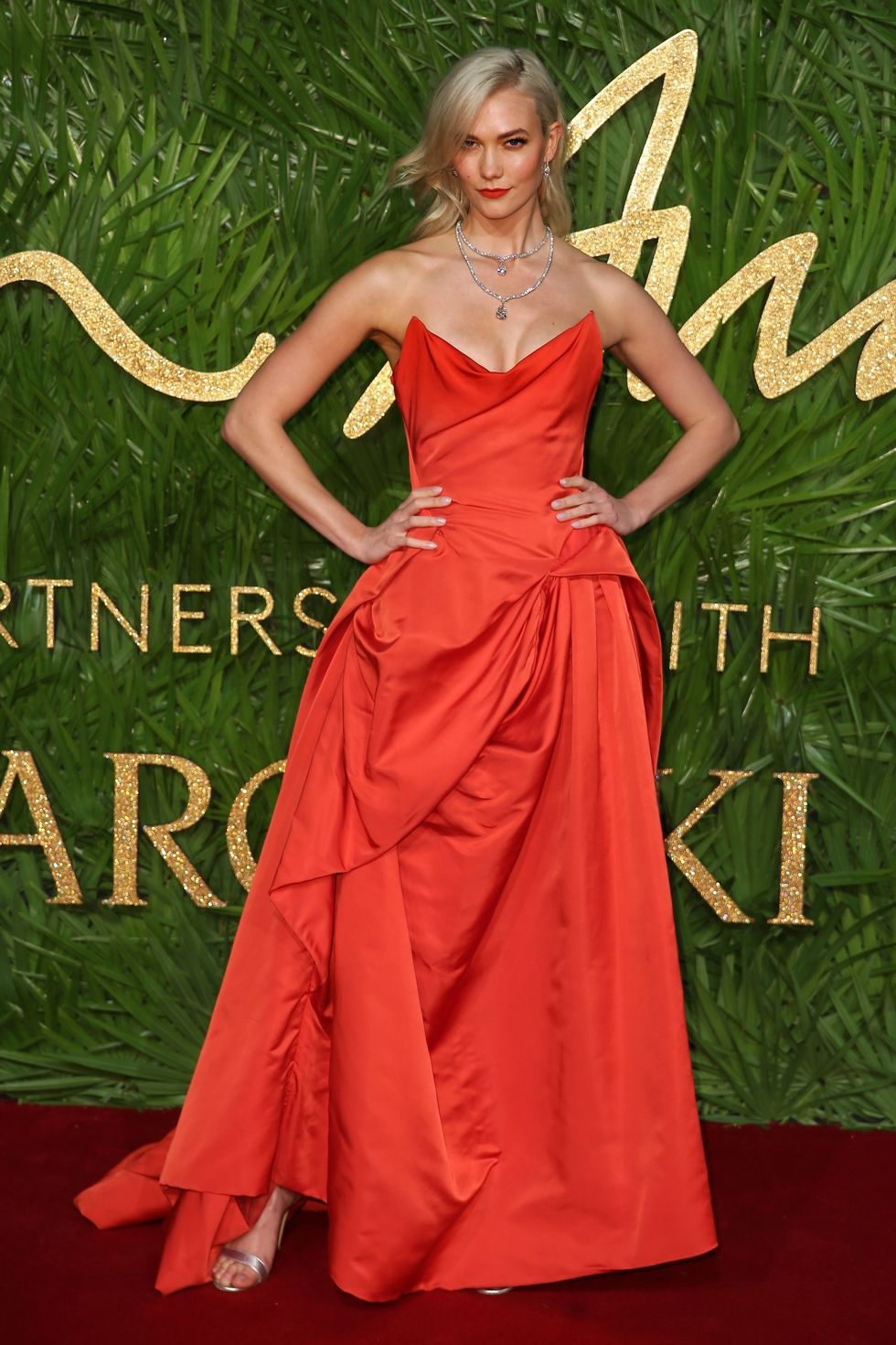 Red Carpet Looks British Fashion Awards