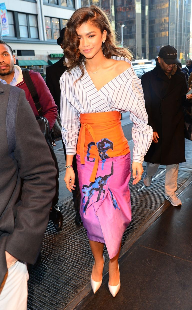 Zendaya Outfits The Greatest Showman Press Tour