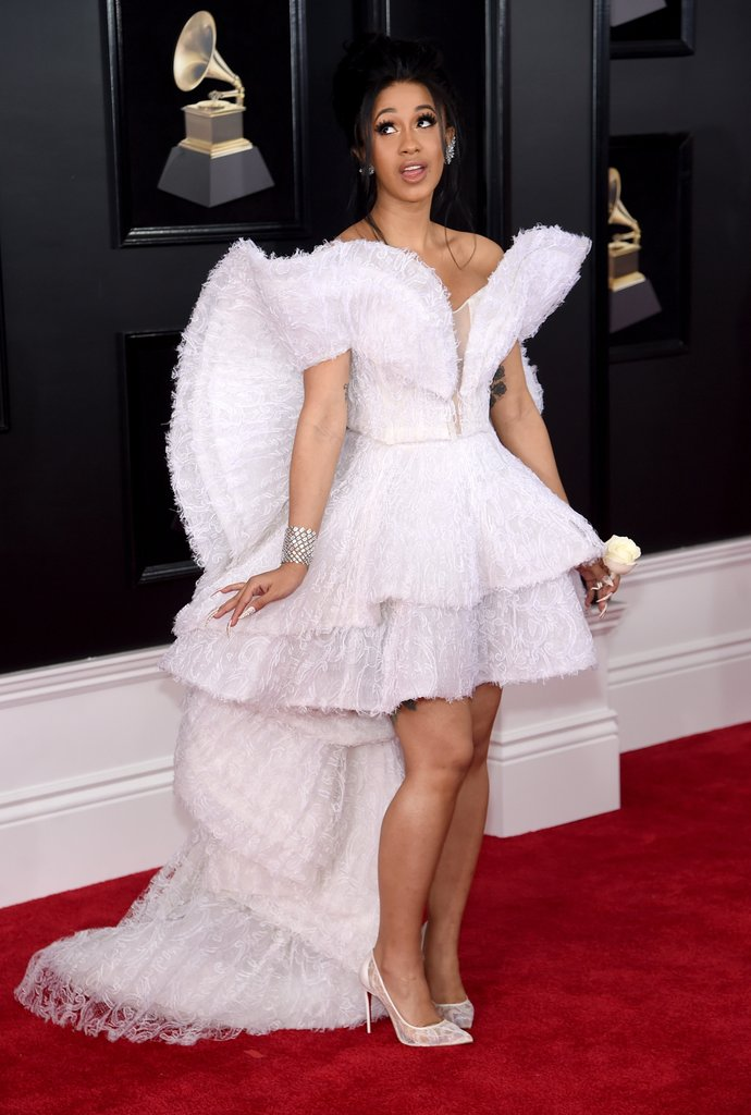 Cardi B Grammy Awards Dress