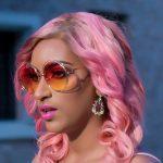 Juliet Ibrahim Wearing Millennial Pink