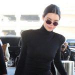 Kendall Jenner All-Black Ensemble