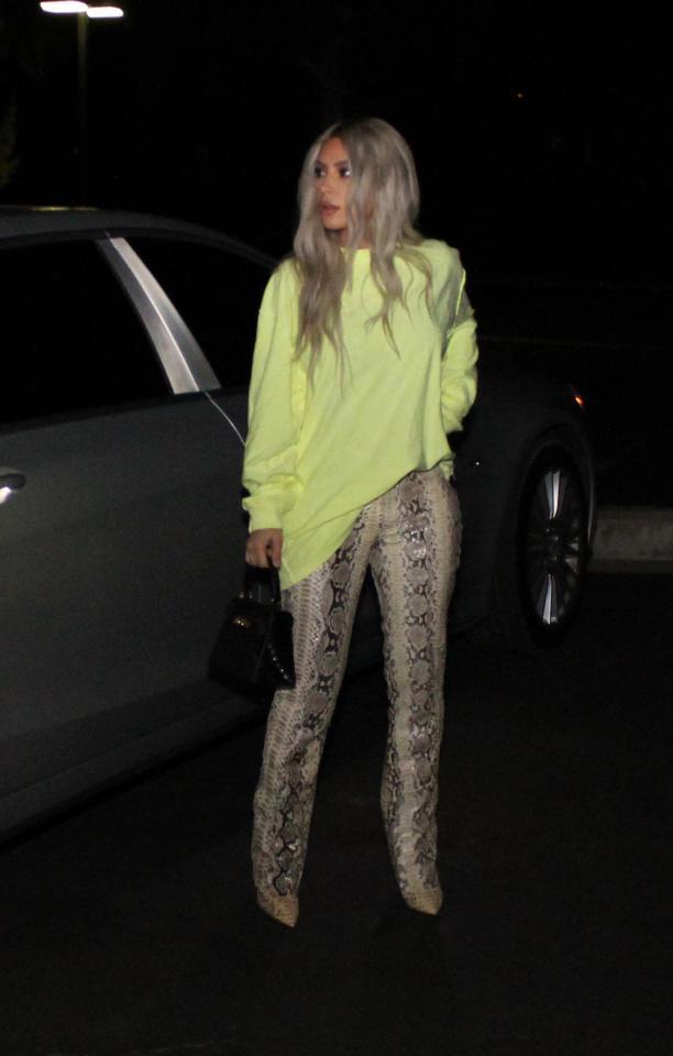 Kim Kardashian Date Night Outfit