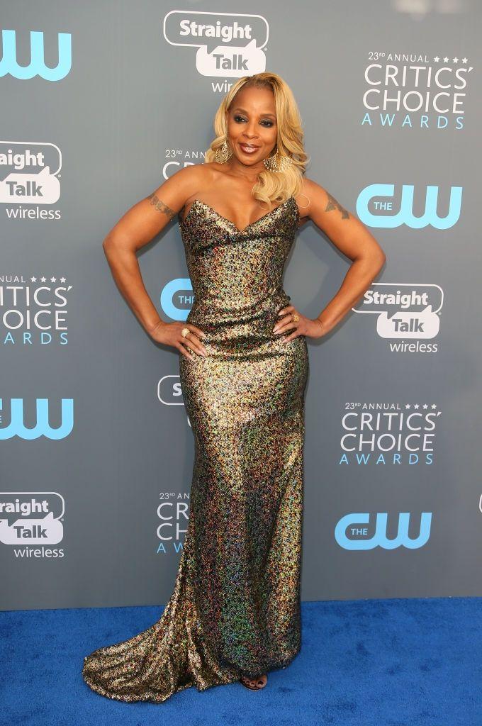 Mary J Blige Critics Choice Awards 2018