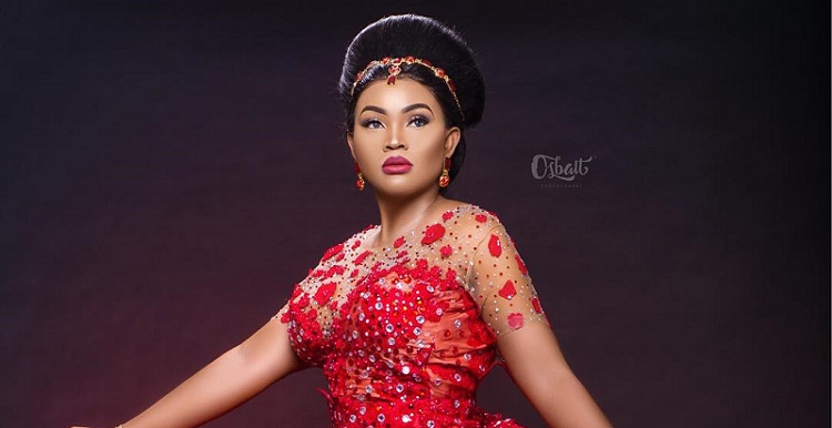 Mercy Aigbe 40th Birthday Dress