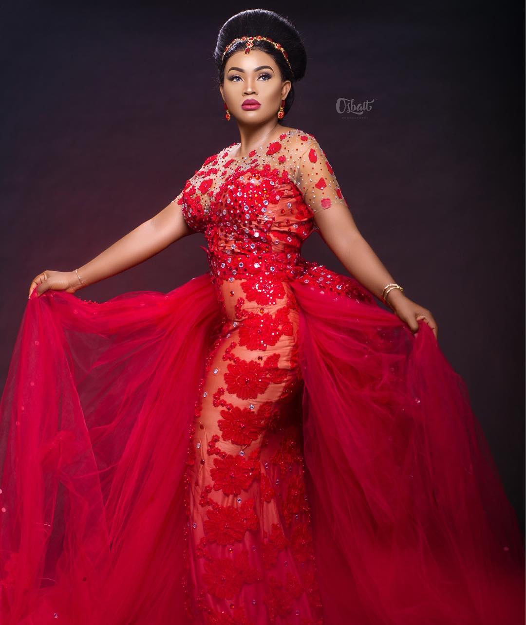 Mercy Aigbe 40th Birthday Dresses