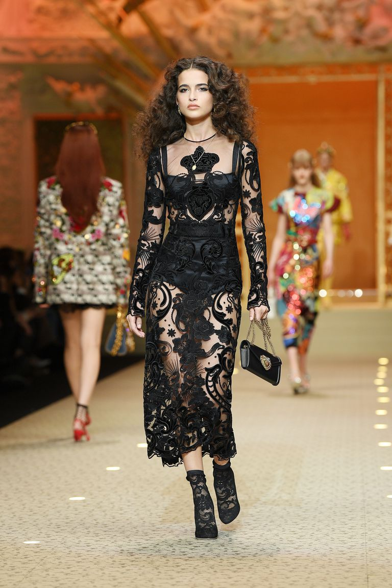Dolce and Gabbana Fall 2018 Show MFW
