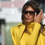Melania Trump Yellow Outfit