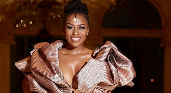 Nomzamo Mbatha Dress SAFTAs 12th