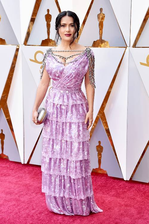 Oscars Awards Red Carpet Looks 2018