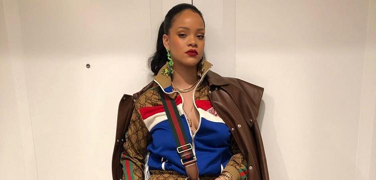 Rihanna Gucci Ensemble