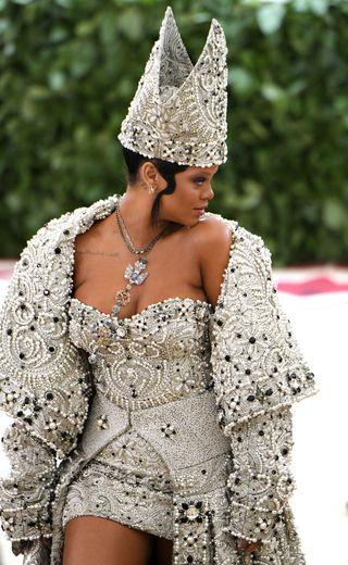 Rihanna Pope Dress Met Gala 2018