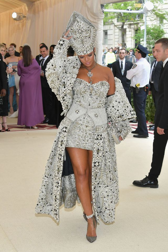 Rihanna Pope Dress Met Gala 2018