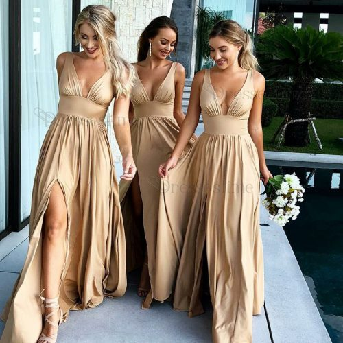 champagne-bridesmaid-dress-color