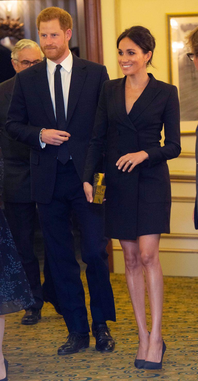 meghan-markle-tuxedo-dress-gala-performance-of-hamilton