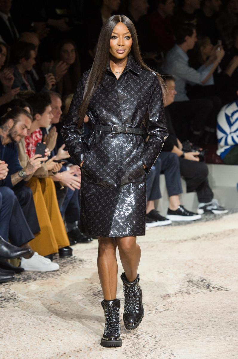 Naomi Campbell Louis Vuitton Fall Winter Collection 2018 Menswear