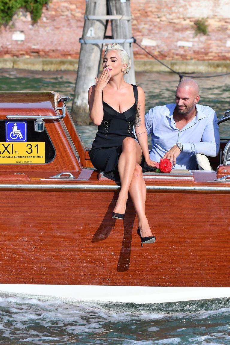 lady-gaga-boat-arrival-venice-film-festival