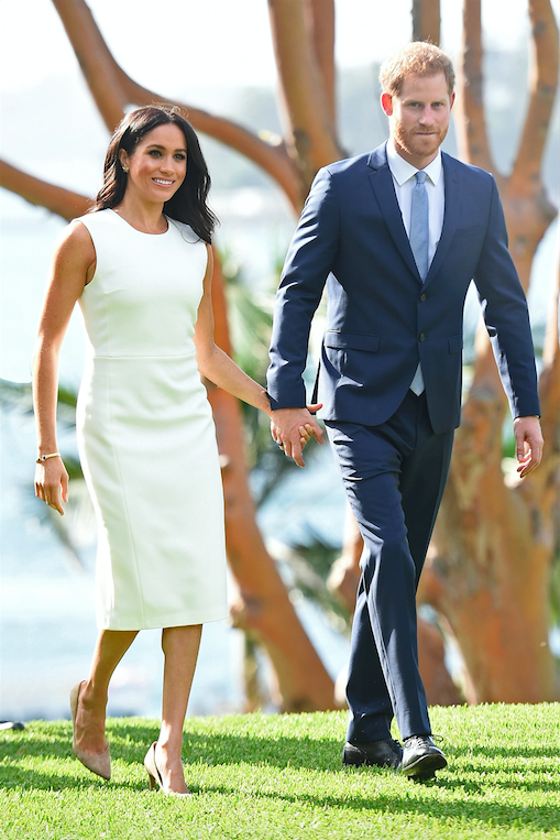 Meghan-Markle-Pregnancy-White-Dress-Australian-tour