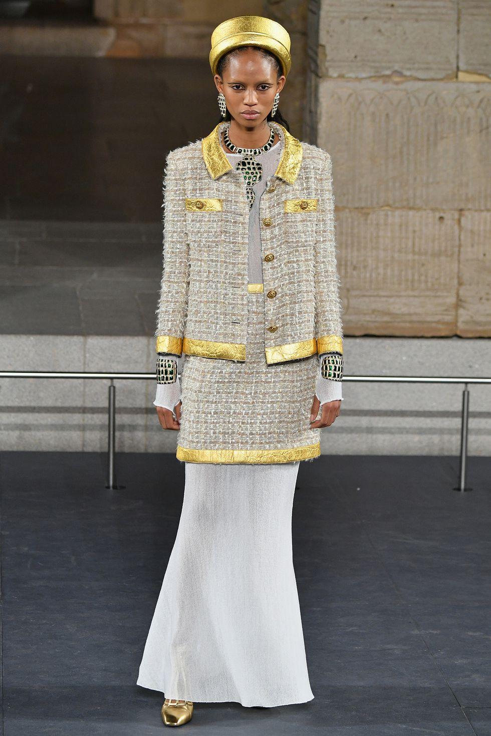 Ancient Egypt Chanel Metiers' D'Art Show