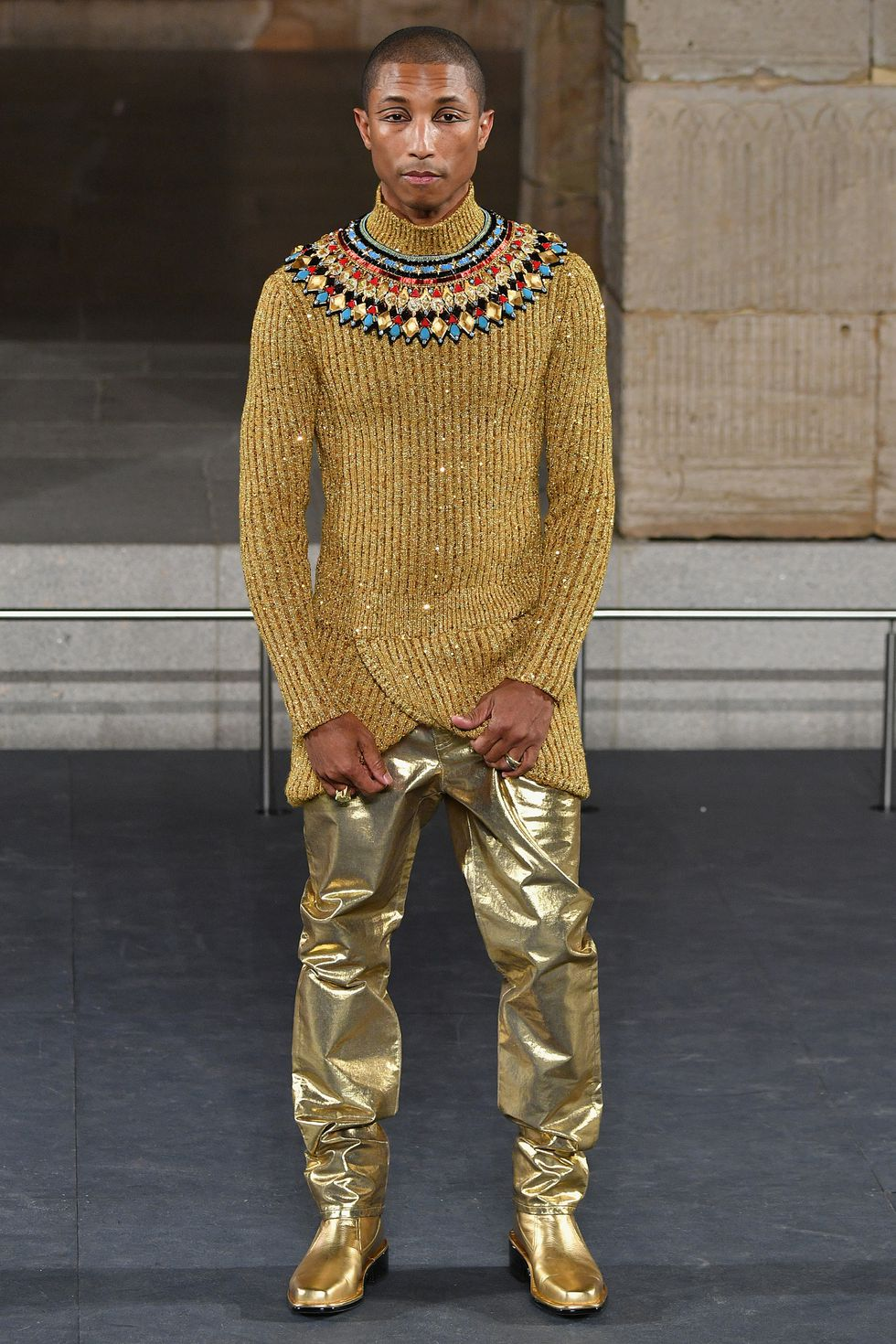 Ancient Egypt Chanel Metiers' D'Art Show