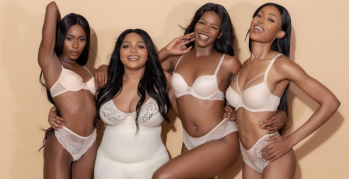 Lilian Afegbai Launched Lingerie line