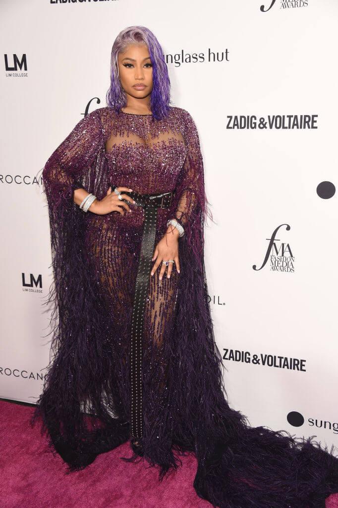 Nicki_Minaj_Dress_Hair-Matching_Trend