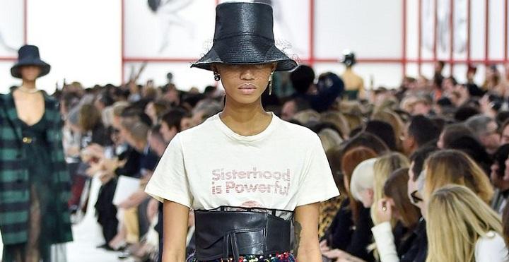 Dior Sisterhood Is Powerful T-Shirt PFW-Fall2019