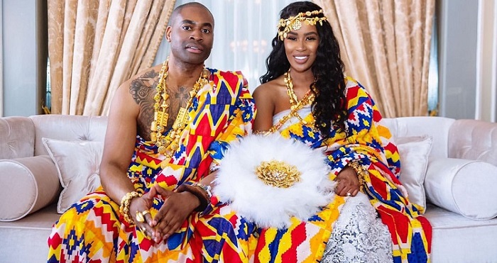 Louisa Fofie Ghanaian Traditional Wedding Dress