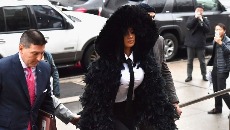 Cardi B Court: Cardi B Shows Up In Court And Dressed To Kill