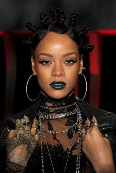 Rihanna Bantu knots—Fashion Police Nigeria