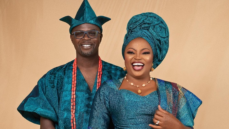 Funke Akindele And JJC Skillz Celebrate 4th-Year Wedding Anniversary In  Traditional Attire - FPN