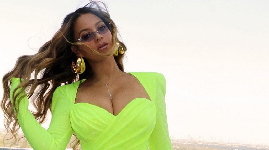 Beyonce Wearing Neon Green Trend