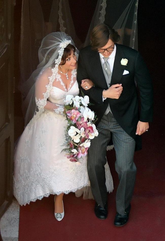 Lady Gaga House of Gucci Wedding Dress