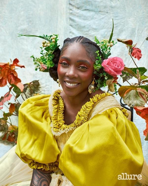 Tiwa Savage Allure Magazine Best-of Global Beauty Issue