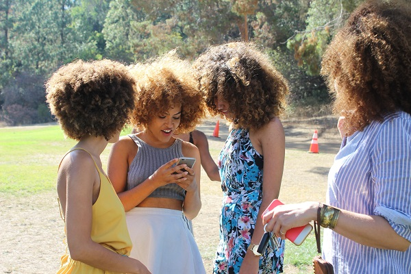 Women Socializing Outdoor