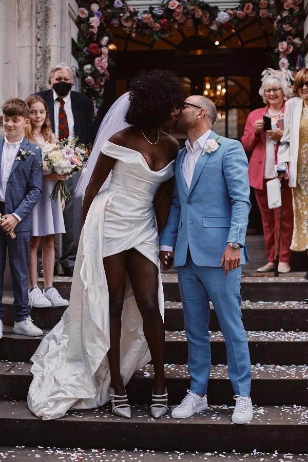 Lorraine Pascale Wedding Daughter Ella Balinska Down The Aisle