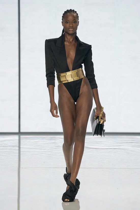 Balmain Spring-Summer 2022 Collection Paris Fashion Week