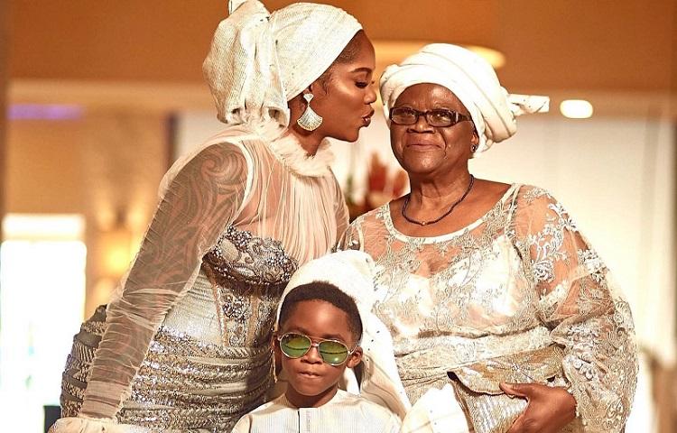 Tiwa Savage Tope Dress Father Funeral