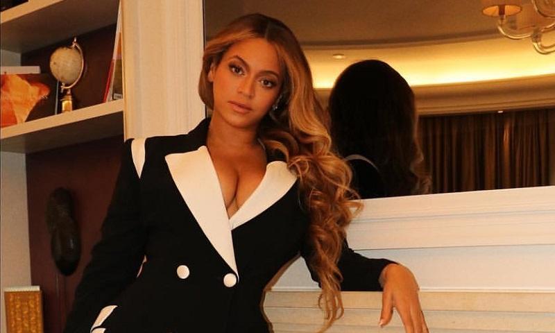 Beyonce Blazer Dress BFI London Film Festival