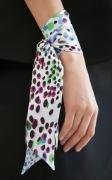 Fresh Ways To Wear The Silk Scarf