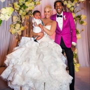 Amber Rose Reveal Wedding Dress 12 Months After Marriage