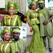 MERCY JOHNSON'S GORGEOUS LOOKS FOR SON'S DEDICATION