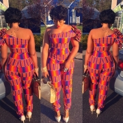 We're Obsessed: 25 Jumsuits/Playsuits Ankara Styles To Try Now That Are Super Flattering